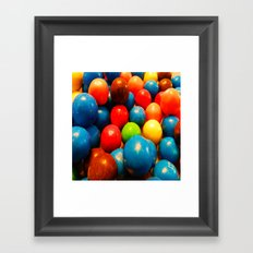Colorful Candy! Framed Art Print