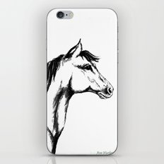 'Another Horse Profile' by Ave Hurley iPhone & iPod Skin