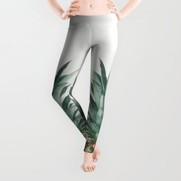 Pineapple Top Leggings