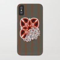 hawaiian iPhone & iPod Cases featuring Mid Century Hawaiian by Vikki Salmela