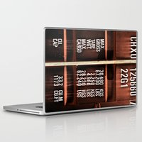 rogue Laptop & iPad Skins featuring Rogue container by Bruce Stanfield