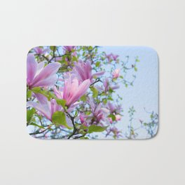 Magnolia trees in bloom  Bath Mat
