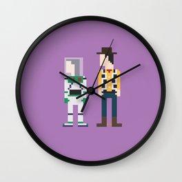 Toy Story 8-Bit Wall Clock
