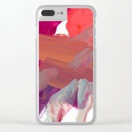 alla prima 2 Clear iPhone Case