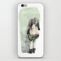 bubble iPhone & iPod Skins featuring Bubble by Tapio Mömmö