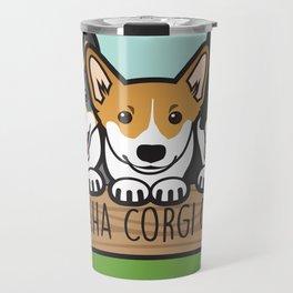 Omaha Corgi Crew Travel Mug
