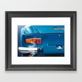 Renault Alpine A110 from 1962 Framed Art Print