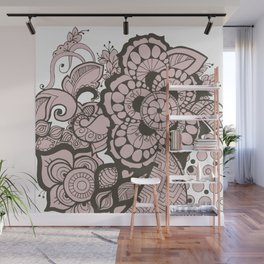 Floral Flurry Wall Mural