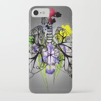 lungs iPhone & iPod Cases featuring Lungs by Nadia Cruikshanks