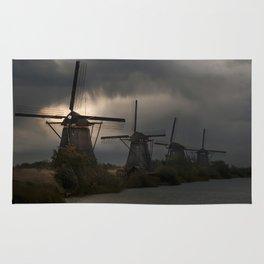 Dutch Windmills in Kinderdjik Rug