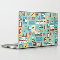 parks and rec Laptop & iPad Skins featuring Parks and Recreation by Kitkat Lastimosa