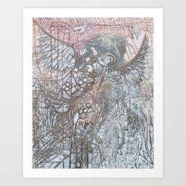 The Winged Octopus Tamer Art Print