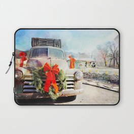 Christmas In Taos, New Mexico Laptop Sleeve