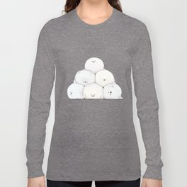 Harp Seal Pups Long Sleeve T-shirt