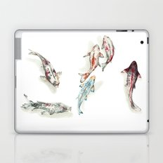 Koi Fish Watercolour Laptop & iPad Skin