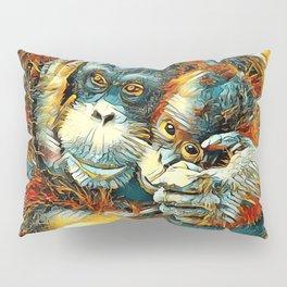 AnimalArt_OrangUtan_20170603_by_JAMColorsSpecial Pillow Sham