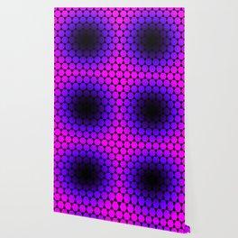 Hexagon & Pattern Wallpaper
