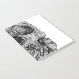 Skull and Rose Notebook