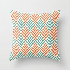 Citronique Series: Forêt Melon Throw Pillow