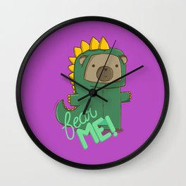 fear me! Wall Clock