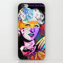 Mae West Collage Art iPhone Skin