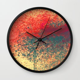 Ice Shade Blue Wall Clock