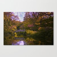 oasis Canvas Prints featuring oasis by Ruby Del Angel