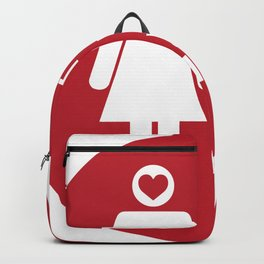 Think with your Heart Backpack