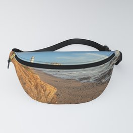 lighthouse at the beach Fanny Pack