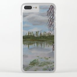 Halfway Lake, Site 93 Clear iPhone Case