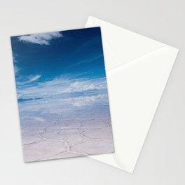 Salt Flats of Salar de Uyuni, Bolivia #1 color photography / photographs Stationery Cards