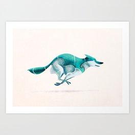 Wolf 4 Art Print