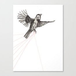 Tethered Canvas Print