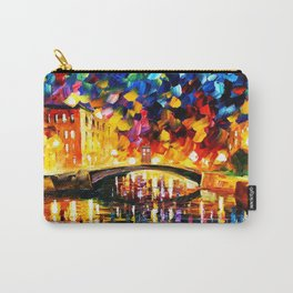Tardis Art At The Bridge Carry-All Pouch
