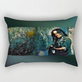 Aliens, Motherfucker! Rectangular Pillow