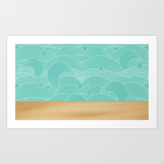 A Taste Of Summer Art Print