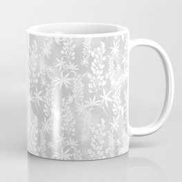 Winter patterns on the window. Coffee Mug