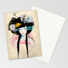 Nenufar Girl Stationery Cards