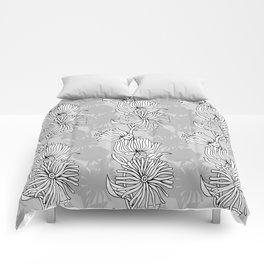 My grey garden Comforters