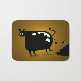 COW MANURE Bath Mat