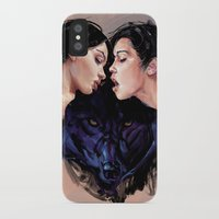 beast iPhone & iPod Cases featuring Beast by Tyson McAdoo