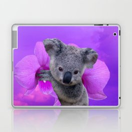 Koala and Orchid Laptop & iPad Skin