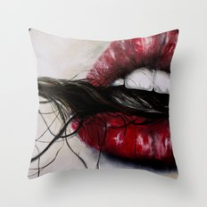 Tangles   Throw Pillow