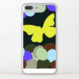 The Butterfly Clear iPhone Case