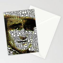 The Duke - A Tribute to John Wayne - Stone Rock'd Art By Sharon Cummings Stationery Cards