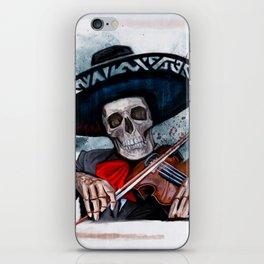 El Mariachi - Dia De Los Muertos iPhone Skin