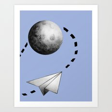 Paper Flight Art Print