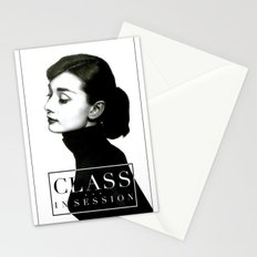 Class in Session Stationery Cards