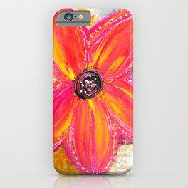 BRIGHT DAISY iPhone Case