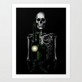 Cinema Macabre Art Print